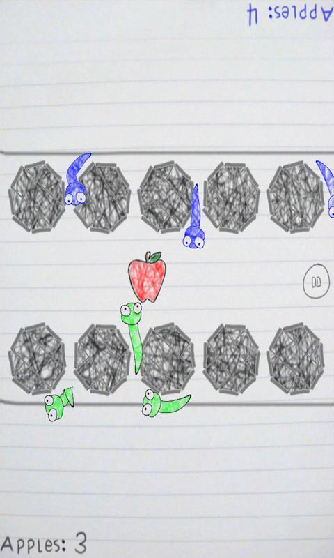 Scribble Worm- screenshot