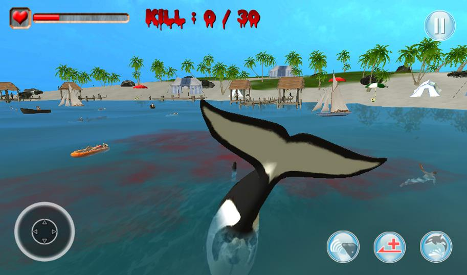 Killer Orca Whale Simulator 3d Android Apps On Google Play