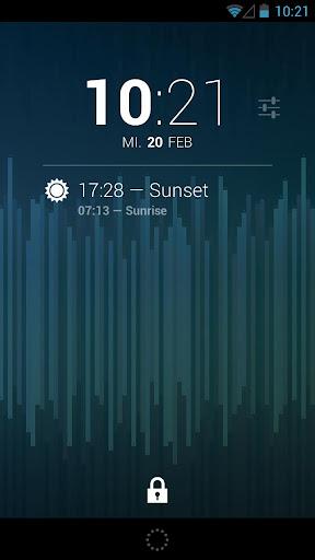 DashClock Sunrise Extension