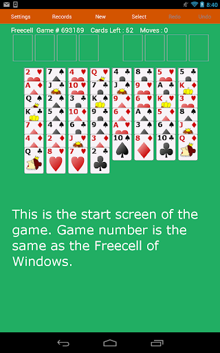 Freecell Solitaire Fun Cards