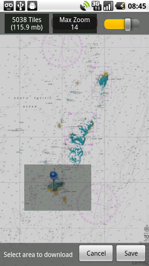 Marine Charts New Zealand HD - screenshot