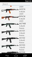 Screenshot of Kalashnikov Variants