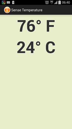 Sense Temperature - AdFree