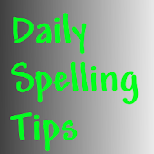 Daily Spelling Tips