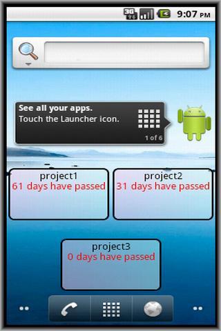 Passed Days- screenshot