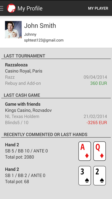 Share Poker Hands - Android Apps on Google Play