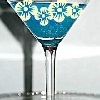 My Blue Heaven Martinis.