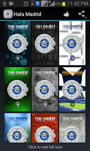 Hala Madrid Live Wallpaper - screenshot thumbnail