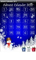 Screenshot of Christmas Advent Calendar 2011