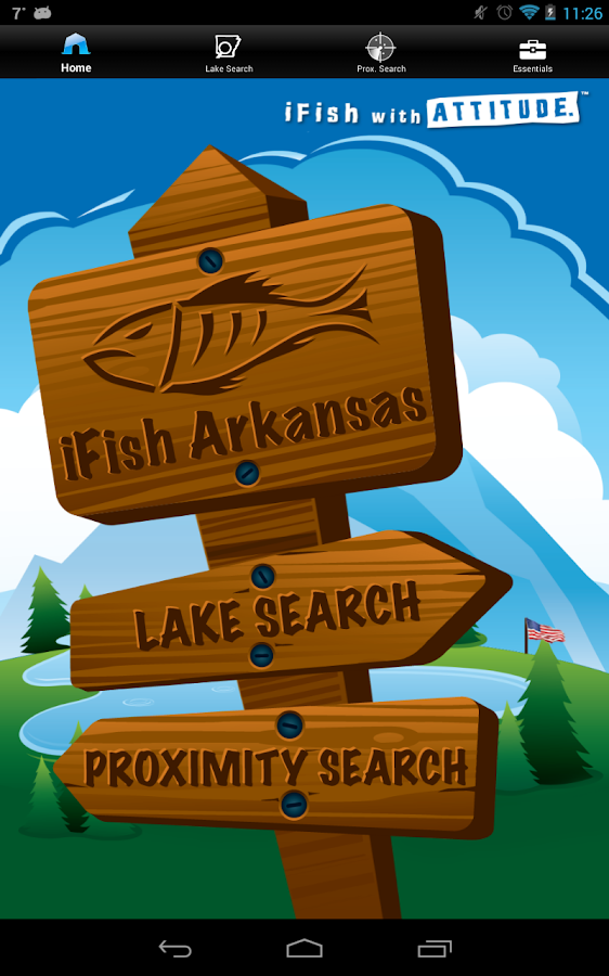 iFish Arkansas- screenshot