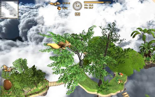 Crazy Flying Squirrel Free - screenshot thumbnail