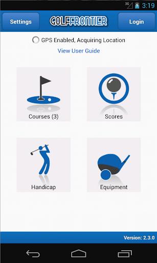 Golf Frontier Pro - Golf GPS