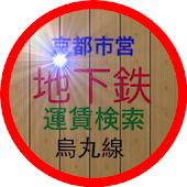 京都市営地下鉄運賃検索(烏丸線)