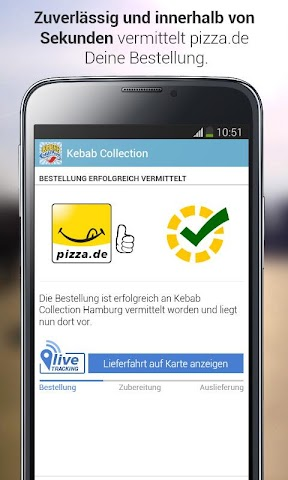 android pizza.de - Essen bestellen Screenshot 8