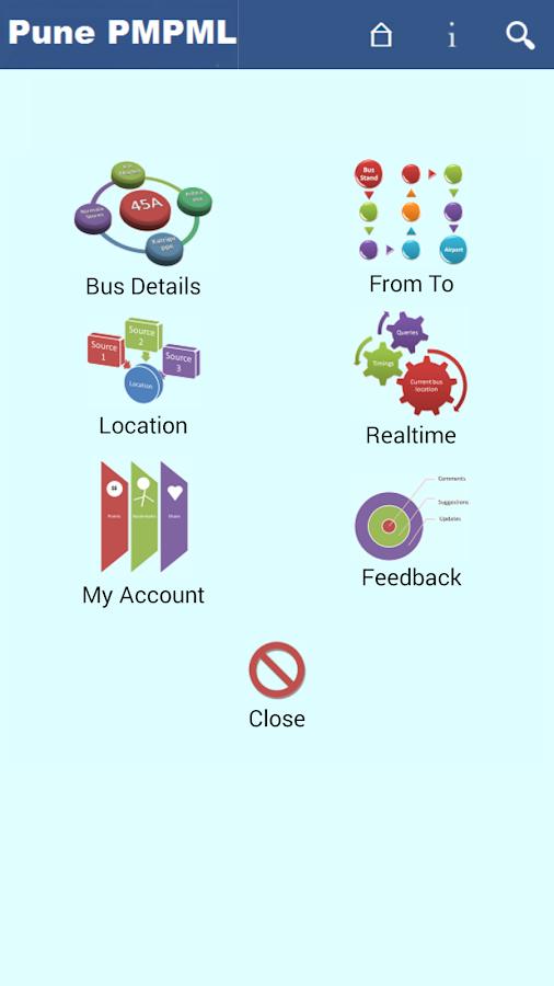 Pune Bus Info - screenshot
