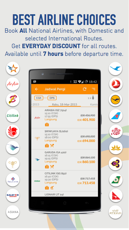 Train Flight Hotel Padiciti - screenshot