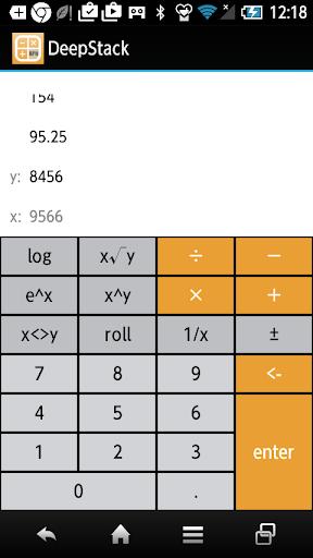 DeepStack RPN Calculator
