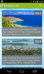 Urlaubshamster.at - Reisedeals – Miniaturansicht des Screenshots