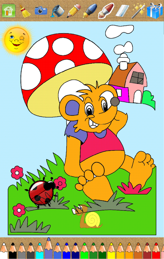 💗 Kids Coloring Book- screenshot