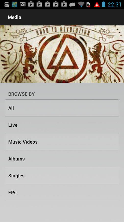 Linkin Park - screenshot