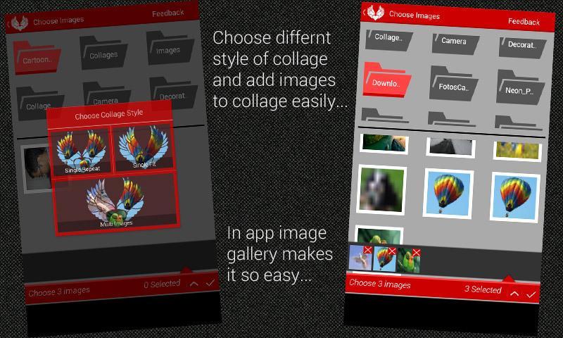 Shape 'O' Collage - screenshot