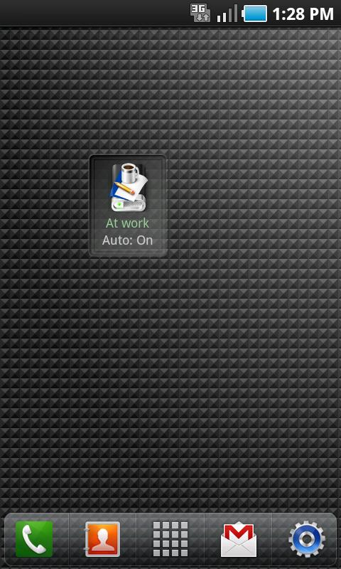 Audio Profile for Android Free- screenshot