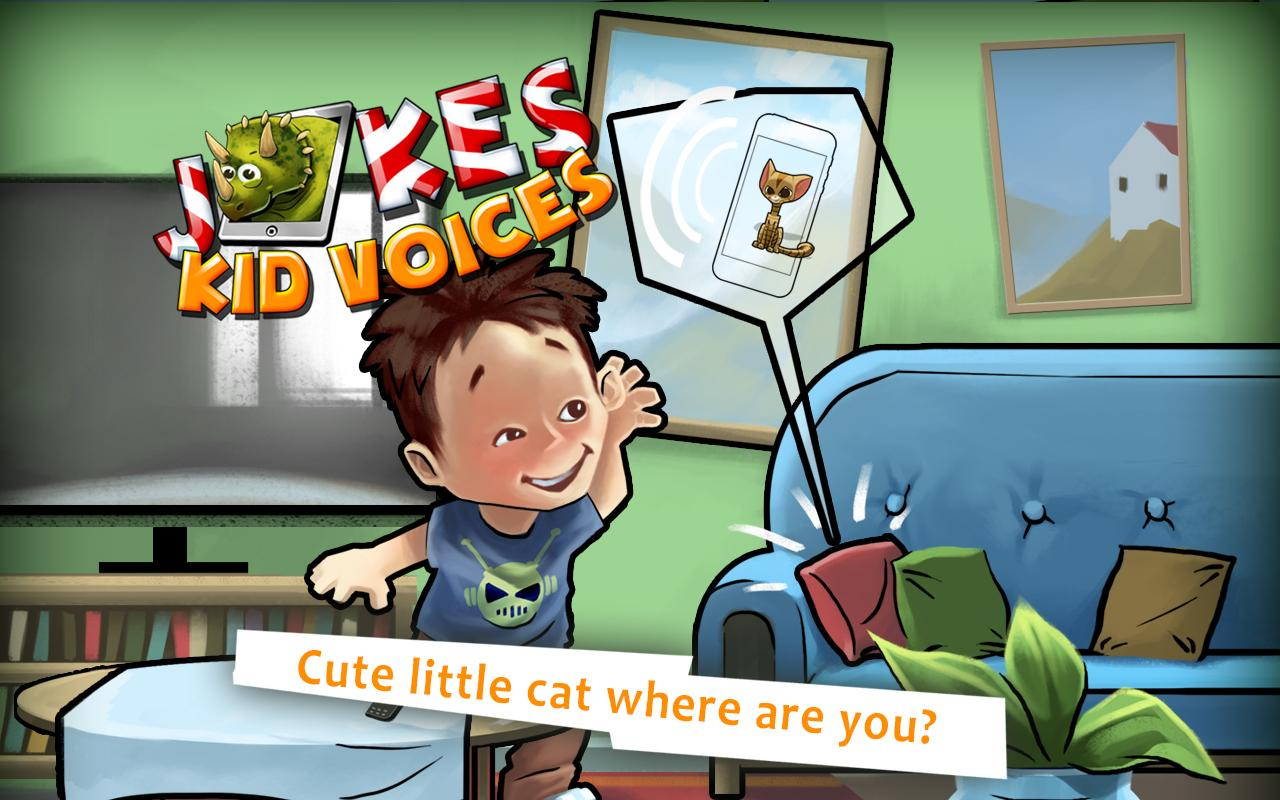 Jokes - Kid Voices - screenshot