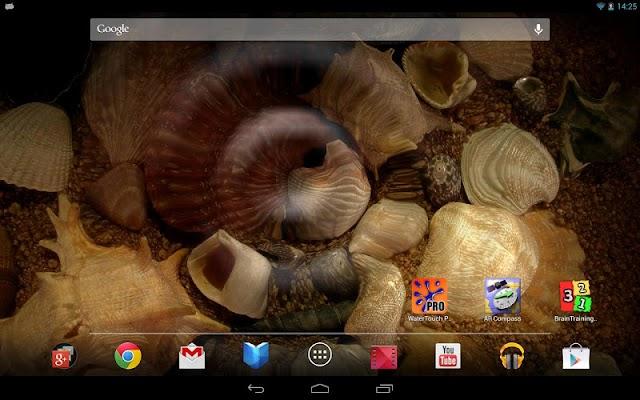 Water Touch Live Wallpaper - screenshot