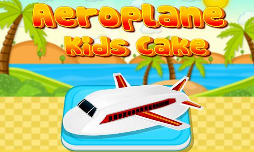 Aeroplane Kids Cake