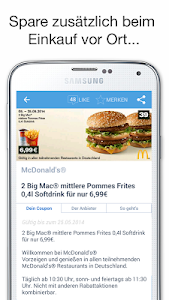 COUPIES Coupons im Supermarkt screenshot 4