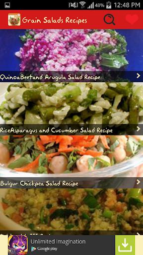 Grain Salads Recipes