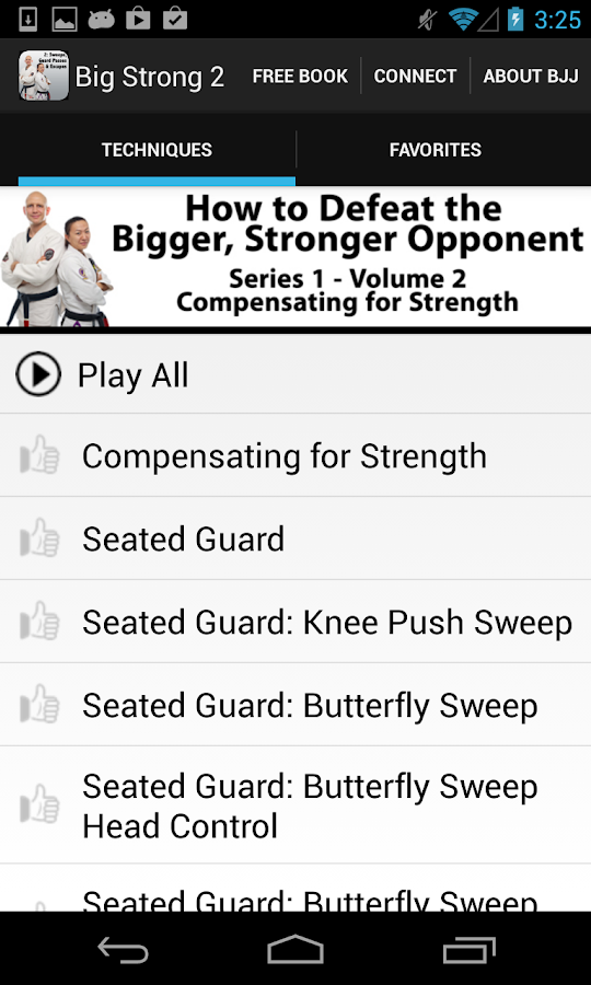 Big Strong 3 - Top 5 Moves App - screenshot