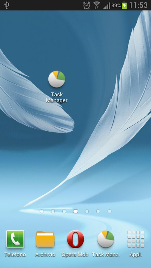 Task Manager Note 2 Shortcut- screenshot