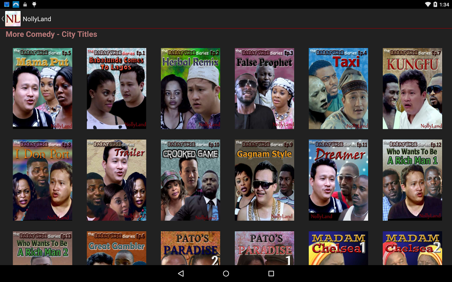 Phone Download Free Full Movies For Android Phones nollyland nigerian movies android apps on google play screenshot