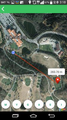 핀투미 -골프거리측정, 골프 GPS , 보이스캐디 - screenshot