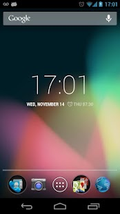 Slim Lock Clock - screenshot thumbnail