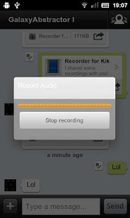 Recorder for Kik- screenshot thumbnail