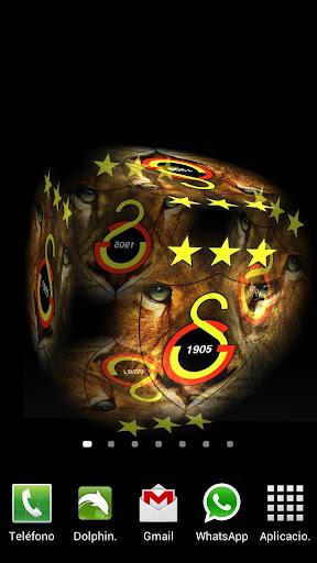 Cep 3D Galatasaray Live Wallpaper Resimler