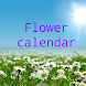Flower calendar (free)