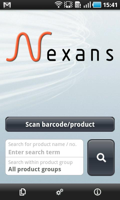Nexans- screenshot