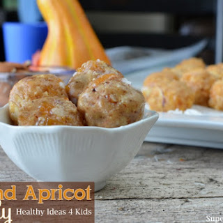 Almond Apricot Candy for Healthy Kids