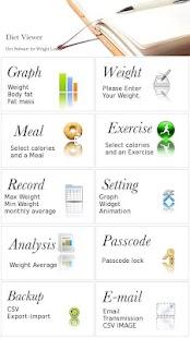 Diet Viewer- screenshot thumbnail
