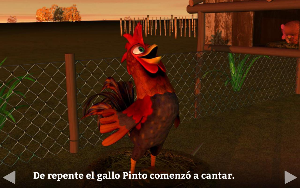 El Gallo Pinto Cuento Infantil Android Apps On Google Play