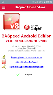 BASpeed Android Edition: miniatura de captura de pantalla