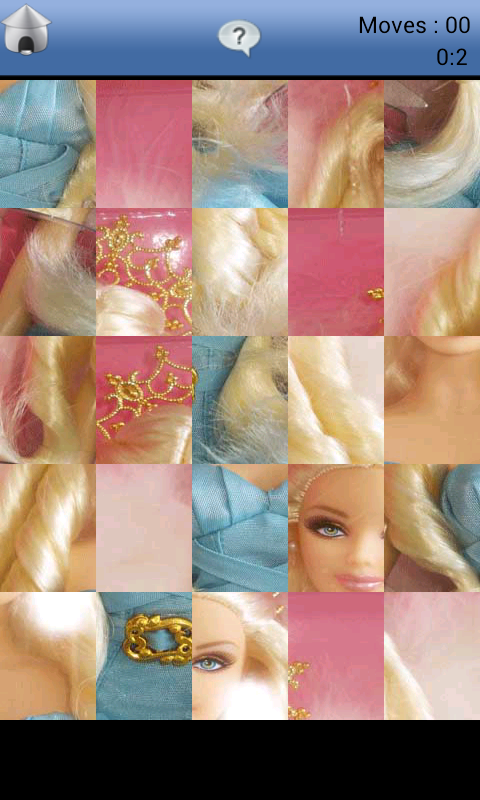 Barbie Puzzle - screenshot