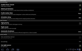 Screenshot of Power Switch Lite