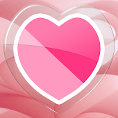 Hearty Pink GO Launcher Theme
