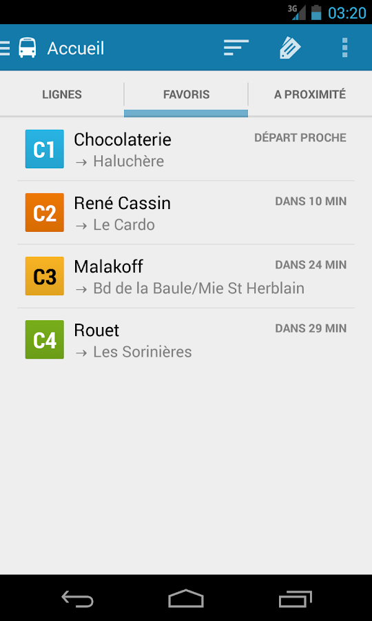 Naonedbus - Transports Nantes - screenshot