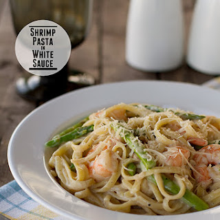 White Pasta Sauce With Shrimp Recipes.