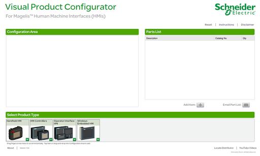 HMI Visual Configurator